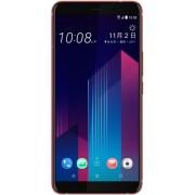 "Telefon Mobil HTC U11+, Procesor Octa-Core 2.45GHz/1.9GHz, Super LCD6 Capacitive Touchscreen 6"", 6GB RAM, 128GB Flash, 12MP, 4G, Wi-Fi, Dual Sim, Android (Rosu) + Cartela SIM Orange PrePay, 6 euro credit, 6 GB internet 4G, 2,000 minute nationale si intern"