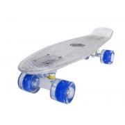 Sportmann Penny board Mad Cruiser Full LED ABEC 7-alb