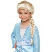 Luxo Peruca luxo Elsa Frozen 2 menina