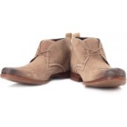 Clarks Goto Hi Boots For Men(Brown)