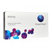 CooperVision Biofinity (Comfilcon) mensuelles 3 lentilles de contact CooperVision -2.75 Comfilcon A I 5 (Silicone Hydrogel)