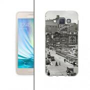 Husa Samsung Galaxy A5 A500 Silicon Gel Tpu Model Vintage City