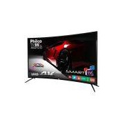 Smart TV Philco LED 55' PH55A16DSGWA Curve 4K, 3 HDMI, 2 USB