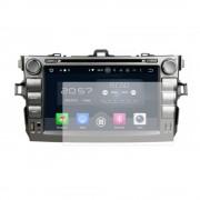 Folie de protectie Smart Protection Navigatie AM Toyota Corolla 2006-2011 cu Android 8 inch