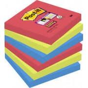 Post-it BoraBora 76x76 6/fp