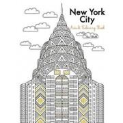 New York City Adult Coloring Book, Paperback/Tevi Woehl
