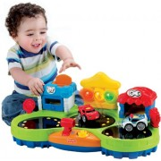 Fisher-Price W9832 Fisher-Price Lil' Zoomers Chase and Race Town