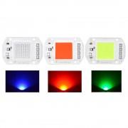 Meco AC220V 50W COB LED Chip Red Green Blue Light Source for DIY Spotlight Floodlight Lamp