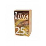 Wellion Luna - 25 Strisce Reattive Per Il Controllo Della Glicemia