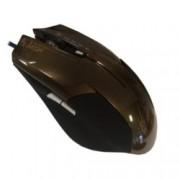 Мишка Omega 6D OPT GAMING, оптична, 2400 DPI, USB, сива