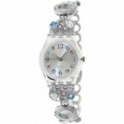 Ceas Swatch dama Originals LK292G argintiu Stainless-Steel Swiss Quartz