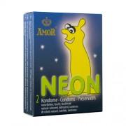 Prezervative Fosforescente Amor Neon