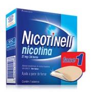 Nicotinell 21 mg/24 horas 14 Adesivos
