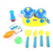 14Pcs Juguetes De Cocina 360DSC - Azul