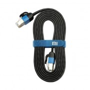 Xiaomi Ethernet netwerkkabel CAT6 - 1.5 meter Plat Zwart