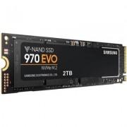 Твърд диск enterprise ssd samsung 970 evo series, 2 tb 3d v-nand flash, nvme m.2 (pcie slot), mz-v7e2t0bw