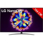 LG TV LED 4K 164 cm LG 65NANO916NA