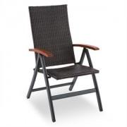 Blumfeldt Korsika összecsukható szék kartámlával, 58,5x103x75 cm (GDM1-Korsika-Chair)