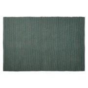 Tapis design 'COVER' 160x230 cm vert en coton