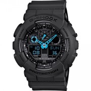 Casio G-SHOCK Standard Analog-Digital Montre GA-100C-8A - Gris