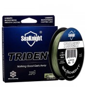SeaKnigt TRIDENT 300M 15-60LB 4 Strands PE Braided Fishing Line Multifilament Sea Carp Fishing Wire