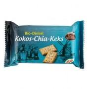 Biscuiti din Grau Spelta cu Cocos si Seminte de Chia Bio 125gr Liebhart's