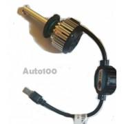 Set leduri COB H7 40W 4800LM cu ventilator