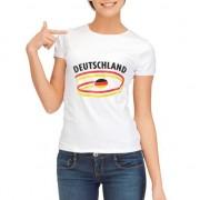 Bellatio Decorations T-shirts met Duitsland opdruk voor dames
