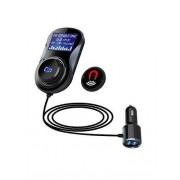 Modulator FM Bluetooth cu Buton de Apel 2XUSB si Suport Magnetic bc30 CarKit