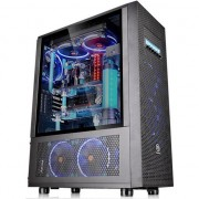 Carcasa desktop thermaltake Calita de sticla Core X71 Edition (1F8-00M1WN-CA-02)