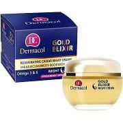 Dermacol Gold Elixir Caviar Night Cream éjszakai arcápoló krém 50 ml