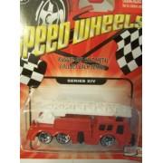 Speed Wheels Fire Department Ladder Truck (Series Xiv)
