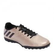 Adidas Chuteira Messi 16 4 TF - Dourada & Preta - Adidas