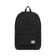 Herschel Heritage Backpack #10007 dark chambray crosshatch/tan