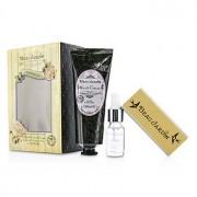 Beau Jardin Lavender & Jasmine Manicure Kit: Hand Cream 100ml/3.38oz + Cuticle Oil 10ml/0.33oz + Nail Buffer 3pcs Beau Jardin Lavender & Jasmine Комплект за Маникțр: Крем за Ръце 100мл + Масло за Кутикули 10мл + Пила за Нокти