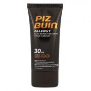 PIZ BUIN Allergy Sun Sensitive Skin Face Cream crema solare viso per le pelli delicate SPF30 50 ml unisex
