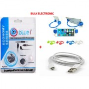 High Performance In-Ear Headphones + Ultra High Speed Micro USB Cable + OK Stand