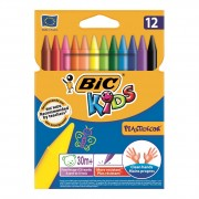 BIC Plastidecor 12 kom - voštane boje