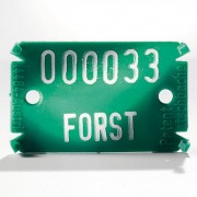 Placute de marcare Signumat Typ 02 GRW - WE 8000-8999