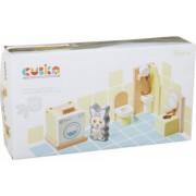 Jucarie Din Lemn Cubika - Set Constructii - My Bathroom