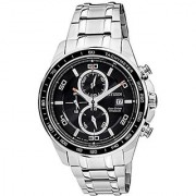 Citizen Eco-Drive Analog Black Dial Mens Watch - CA0341-52E