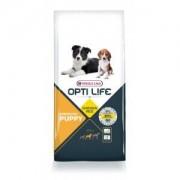 Opti Life Chiot Puppy Medium, Poulet et Riz 12.5 kg