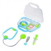Acefun Play Doctor Kit Medical Toys Pretend Doctor Kit Prentend Play Toys for Kids £¨Blue/Green Random Delivery)
