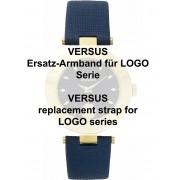 Versus original Uhrenarmband für Logo Serie 18 mm, blau Ref. 29164