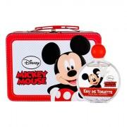 Disney Mickey Mouse confezione regalo eau de toilette 100 ml + valigetta Per Bambini
