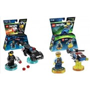 Lego Dimensions Rescue 911 Fun Pack Bundle of 2 - Lego City Fun Pack (71266) & Bad Cop Fun Pack (71213)