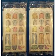 Capcană cu adeziv pentru combaterea moliilor de haine 2 buc.