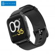 Smartwatch Xiaomi Haylou LS01, IP68 waterproof, 9 moduri sport, bluetooth, notificari, 14 zile autonomie, negru