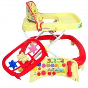 Andadera Para Bebe 32 sonidos con juguetero y 8 llantas