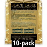 Black Label Turbojäst 14% 10-Pack